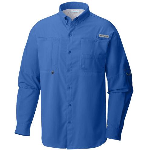 "Wick Vented Fishing Shirt New Mens Columbia PFG /""Tamiami II/"" Omni-Shade"
