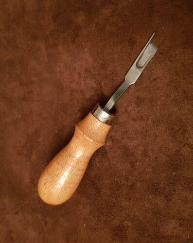 Venta WF el difuminado cuchillo Welt Arado canal Rebajador zapateros Zapatero herramientas