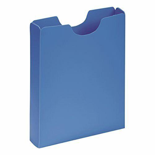 PAGNA Heftbox DIN A4 Kunststoff Sammel Mappe Box Schule blau rosa grün lila neu