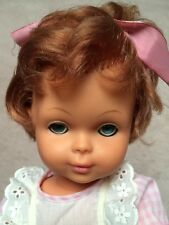 Vintage French Bella  Doll16 Inch Vinyl Face Plastic Body