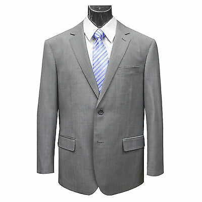 VARCE - GREY PURE WOOL SUIT & TROUSERS (33758)