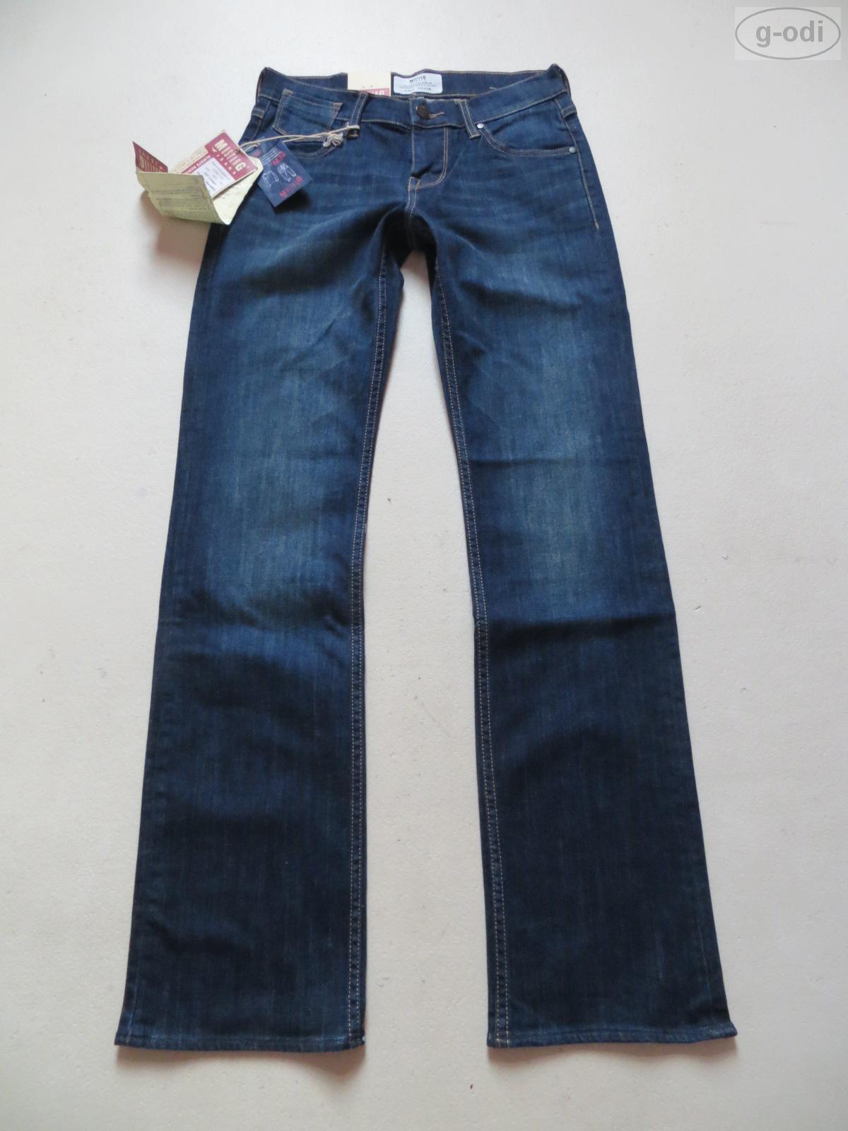 Mustang OREGON Jeans Hose W 27  L 32 NEU   Faded wash Indigo Stretch Denim