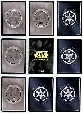 Star Wars CCG Limited Edition Premiere Rare1 2//2 Darkside