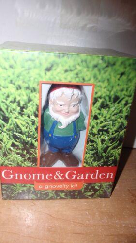 MINIATURE GARDEN GNOME /& GARDEN KIT ~ BRAND NEW SEALED ~ FREE SHIPPING