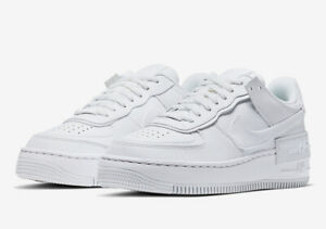 Details about Brand New Nike Air Force 1 07 LE Low All Triple White 315115 112 Womens 5 11