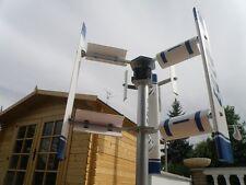 Wind mill Darrieus Savonius turbine generator EOLO 2000 vertical axis Savonius