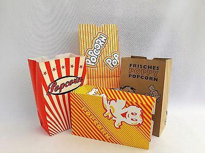 40  KLEINE Popcorntüten PÖ für ca.1 LITER  Popcorn Popcornmaschine