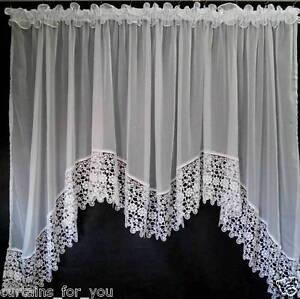 Luxe-Voilages-avec-Amazing-Dentelle-Voile-Blanc-W137-L70-pour-Vous
