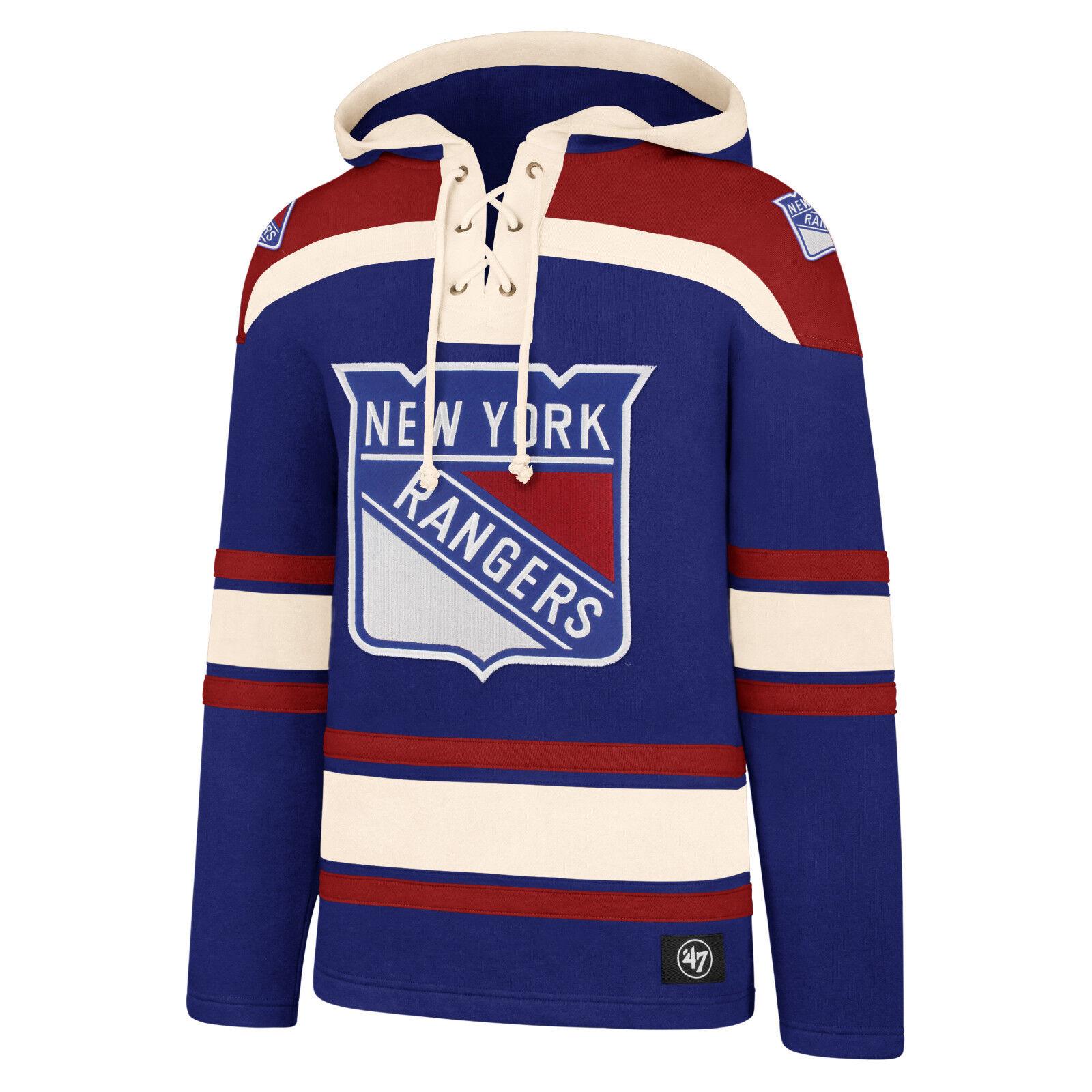 NHL Hoody New York Rangers Hoodie Kaputzenpullover Lacer Jersey hooded Sweater   | ein guter Ruf in der Welt  | Ausreichende Versorgung  | Eine Große Vielfalt An Modelle 2019 Neue
