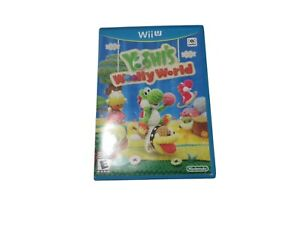 Yoshi-039-s-Woolly-World-Wii-U-2015-Fast-Shipping
