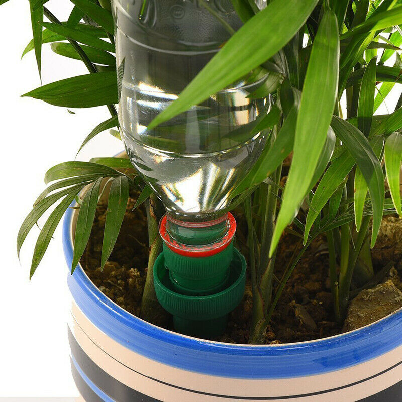 1/2/4pc Plant Waterer Ceramic Self Watering Spikes Automatic Flower Drip
