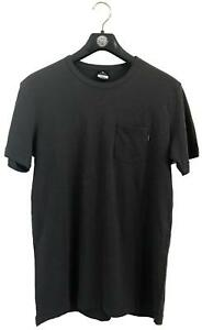 Rip-Curl-PLAIN-SLUB-TEE-Mens-Crew-Neck-T-Shirts-CTECY2-Washed-Black
