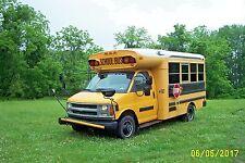 2002 Blue Bird Micro Bird School Bus 16 Passenger 6.5L Diesel Small Short Mini