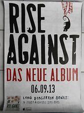 RISE AGAINST  2013  ALBUM   orig.Concert-Konzert-Tour- Poster  DIN A1 .