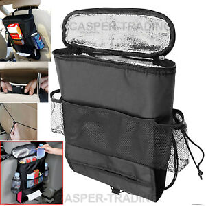 Car-Back-Seat-Organiser-Tidy-Hot-Cold-Insulated-Cooler-Bag-Tissue-Drinks-Holder