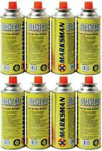 Butane Gas Bottles Canisters Portable Stove Cooker Grill Heaters Pack of 4 227g