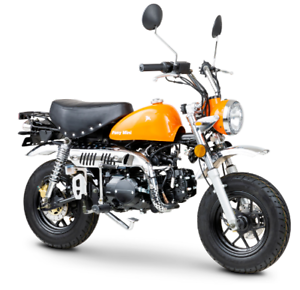 ROMET-PONY-MINI-125-Naked-Bike-125-ccm-4-Takt-MOTORRAD-EURO-4-NEUFAHRZEUG