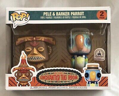 Funko Pop Vinyl Pele Amp Barker Parrot Disney Enchanted Tiki
