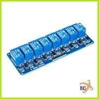 8 Kanal Relay Modul Relais Karte 5V Optokoppler 2-Channel Arduino Raspberry 004