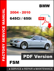Amazing 2004 2010 645Ci 650I Bmw Service Repair Workshop Manual Wiring Wiring 101 Israstreekradiomeanderfmnl