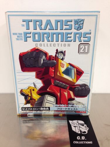 Transformers Collection Takara Bookstyle G1 Reissue Blaster 100% Complete