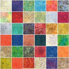 Lot of 10 Fat Quarters ~ Wilmington Batiks FQ Bundle 100% Cotton Quilt Fabric