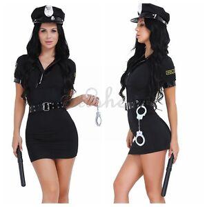feff0c2237831 Image is loading Halloween-Officer-Naughty-Costume-Police-Woman-Cop-Uniform-