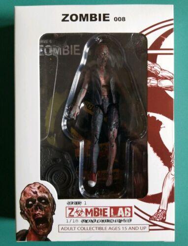 ZOMBIE LAB 1//18 Scale Action Figure #026 Zombie 008