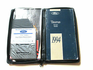 Ford-Lincoln-1994-Taurus-Owner-039-s-Manual