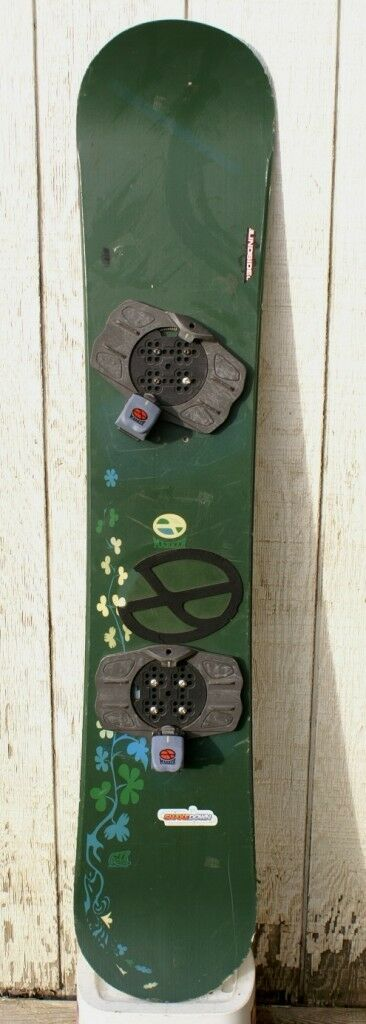 Nice MARKER 140cm Green  Snowboard with Marker Bindings  limit buy