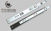 Drawer Slide Soft Close, Ball Bearing (1 Pair) -
