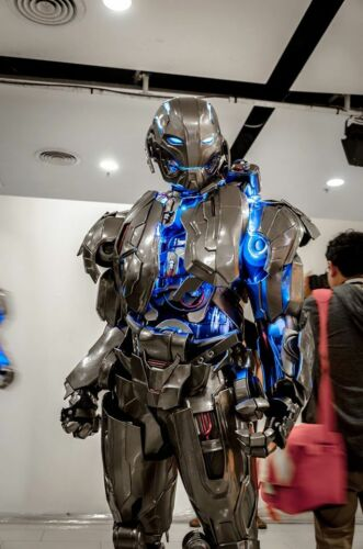 SCALA 1:1 INDOSSABILE COSPLAY ULTRON From The Avengers Costume, armatura