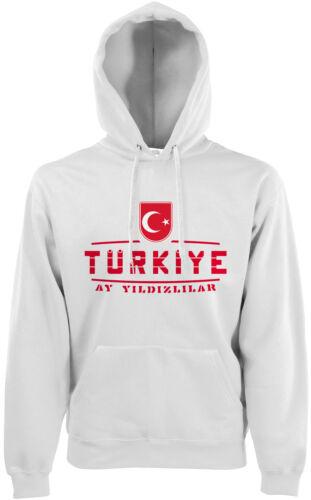 Turchia fan Hoodie con Cappuccio Pullover wm2018