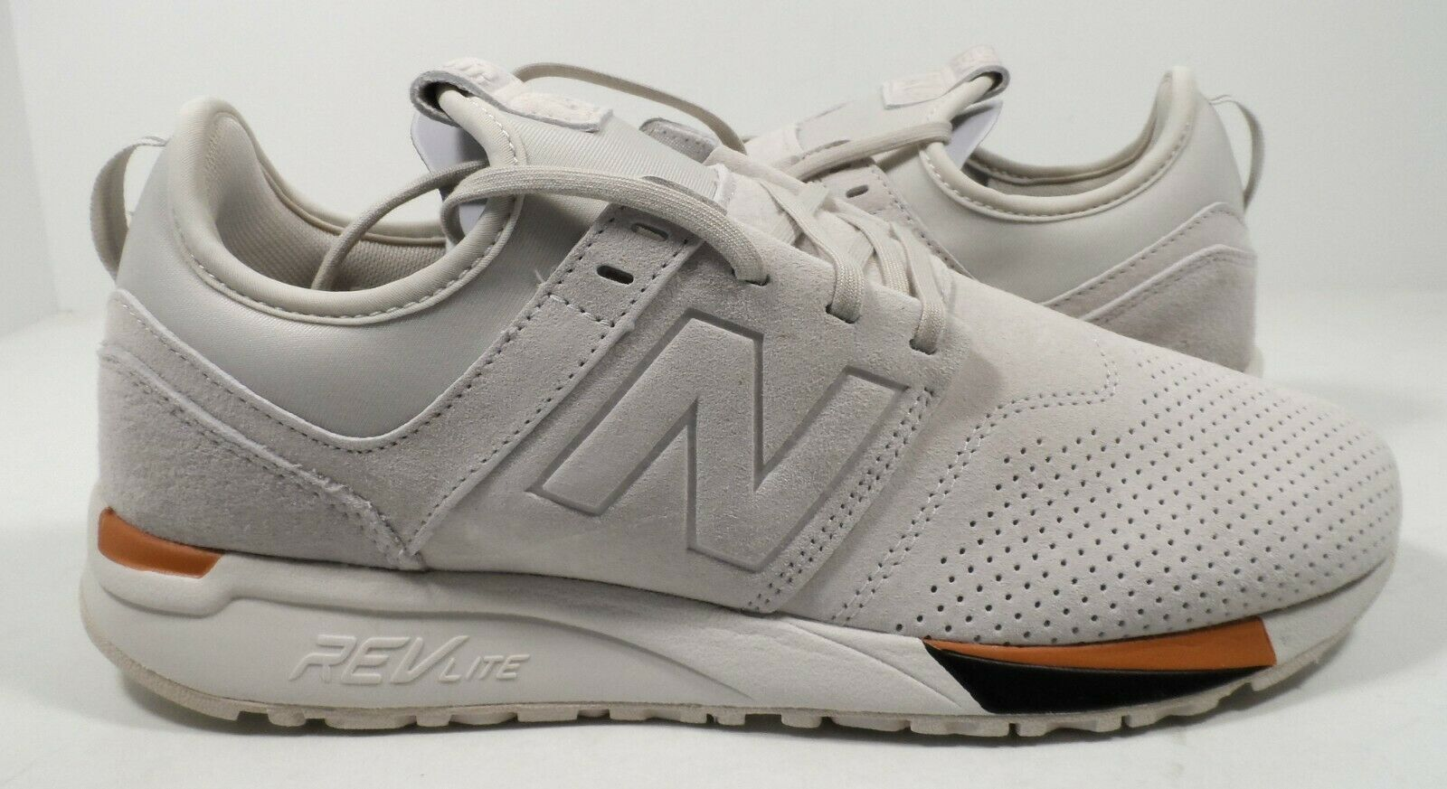 New Balance Men's MRL247WS Suede Lace up Sneaker Size 12