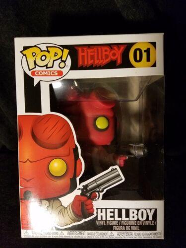 Hellboy Comics Hellboy Funko Pop Vinyl Figure #01