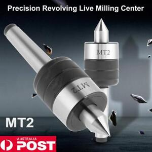MT2-Live-Center-Morse-Taper-Triple-Bearing-2MT-Metal-Lathe-Tool-For-CNC-Work-AU