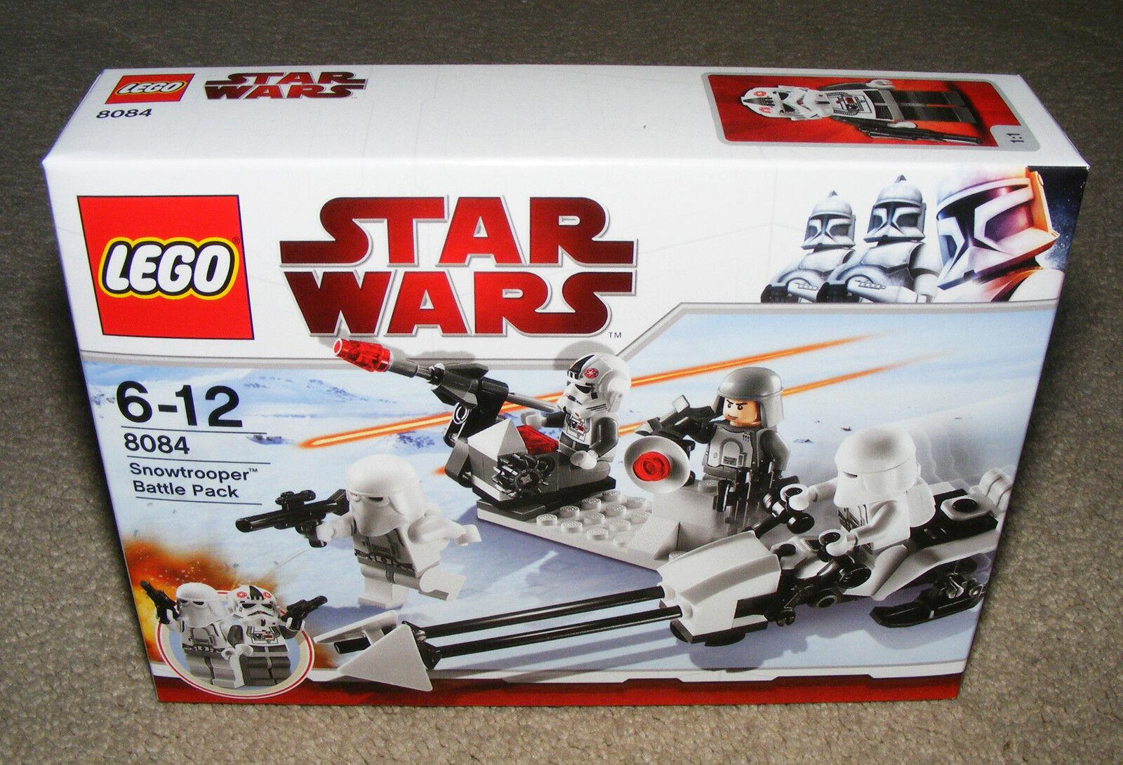 STAR WARS LEGO 8084 SNOW TROOPER BATTLE BATTLE BATTLE PACK BRAND NEW SEALED  saludable