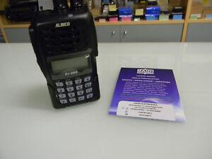 Alinco-DJ-500-ricetrasmettitore-bibanda-portatile-con-batterie-litio-caricatore