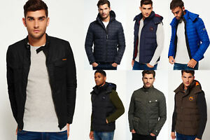 New-Mens-Superdry-Jackets-2-Selection-Various-Styles-amp-Colours-0301