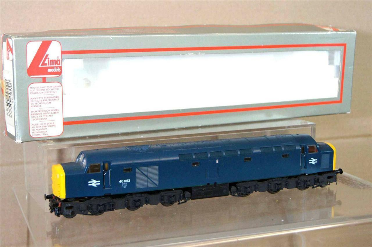 LIMA 5278 KIT BUILT BR blueE CLASS 40 LOCO 40052 DETAILED MINT BOXED mv