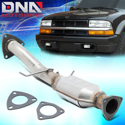 Front Catalytic Converter Exhaust Manifold fit for 1996-1999 Chevrolet GMC Oldsmobile 4.3L V6 Replacement for Part Number: 15827