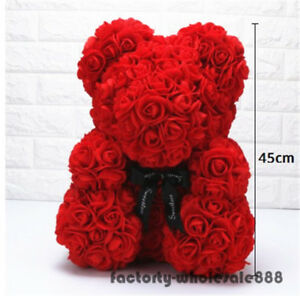 Image Is Loading 45cm Giant Large Huge Big Teddy Bear Rose