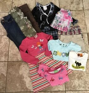 a624f5ba Girls Lot Size 4-5 Jeans Tops And Dresses By Tommy Hilfiger Dollie ...