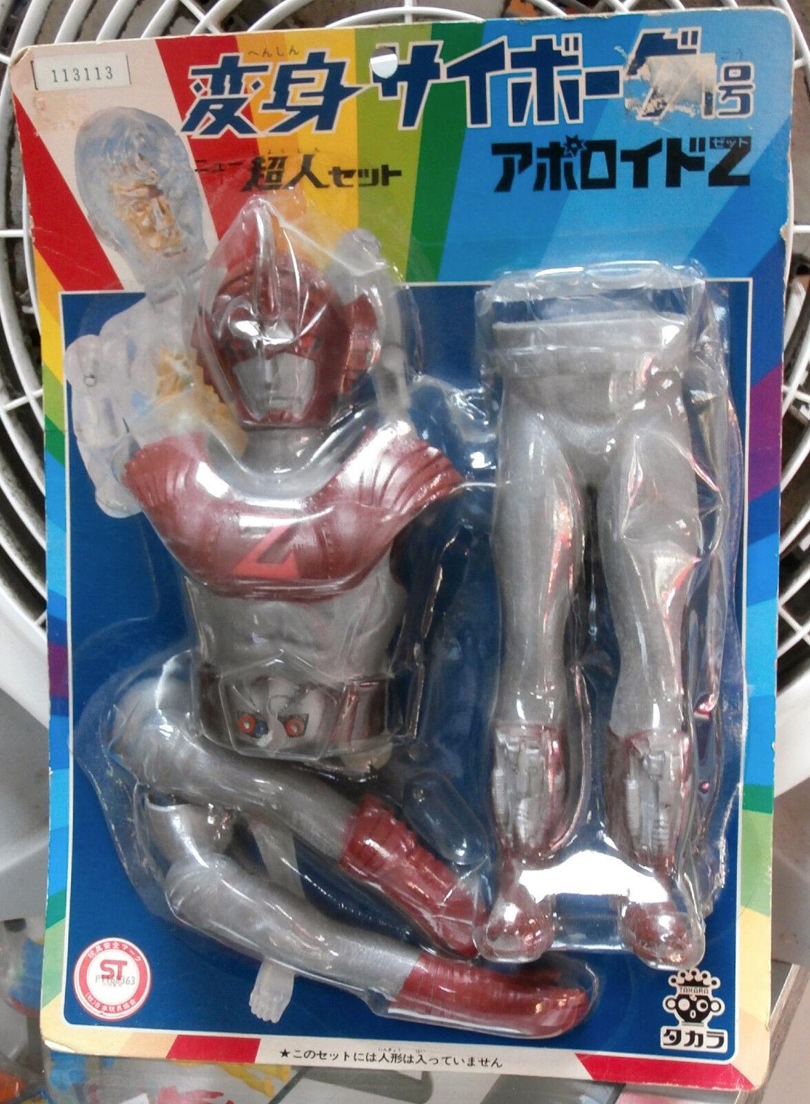 TAKARA HENSHIN CYBORG 1 APOLLO Z COSTUME SET ROBOT JAPAN ZET TOKUSATSU