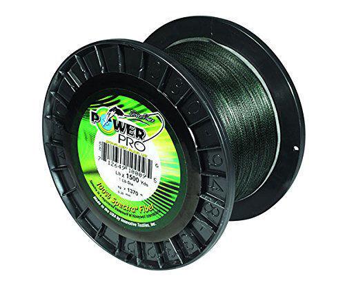 Power Pro USA Spectra Braid Fishing Line 100lb 1500yd 45kg 1370m GREEN 100-1500