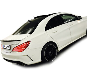 mercedes cla amg c 117 w117 spoiler obsidian schwarz 197. Black Bedroom Furniture Sets. Home Design Ideas