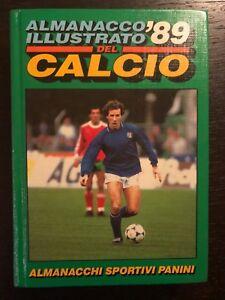 AA-vv-Almanacco-illustrato-del-calcio-1989-Edizioni-Panini-Beltrami