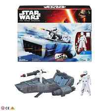 Star Wars The Force Awakens First Order Snowspeeder & Snowtrooper Toy Figure
