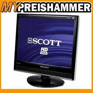 scott tvx 220 lcd 56 cm 22 zoll fernseher dvb t hdmi. Black Bedroom Furniture Sets. Home Design Ideas