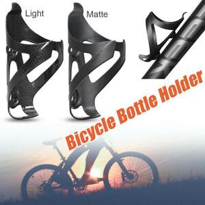 Full Carbon Fiber Bicycle Water Bottle Cage MTB Road Bike Bottle Holder Sport